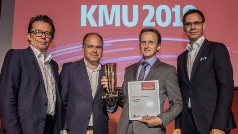 LUF ist KMU des Jahres in Vorarlberg!