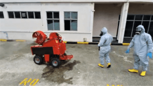 Decontamination using the LUF Micro