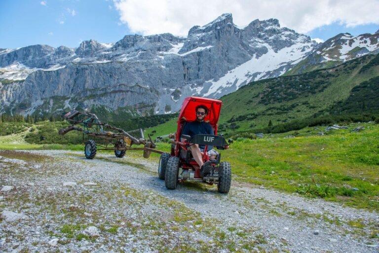 LUF Mobil Ausflug in den Bergen
