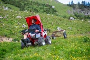 """Offroad wheelchair in magazine """"imDialog"""""""