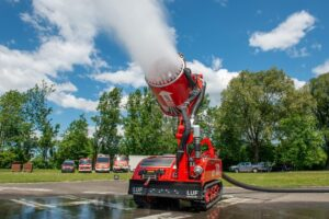 Introduction: LUF 300 – the newest firefighting robot!