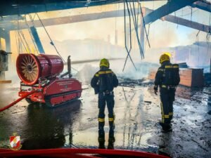 Read more about the article Large fire of a sawmill