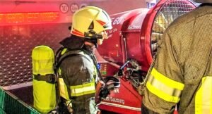 Read more about the article Motorcycles on fire in underground car park