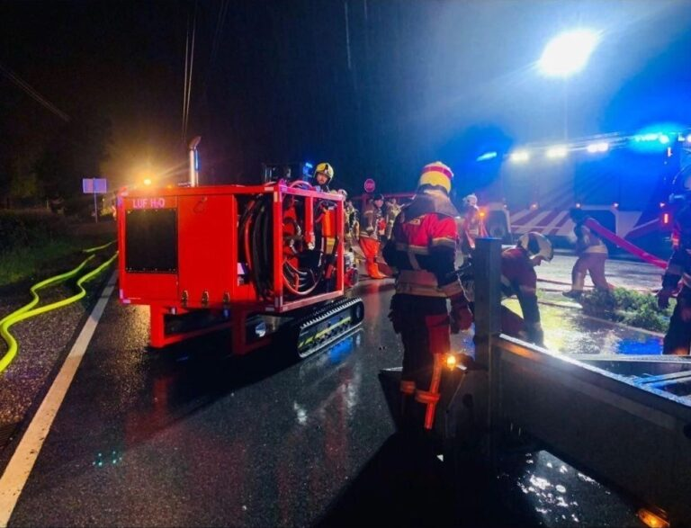 Read more about the article Feuerwehreinsatz bei Überflutung