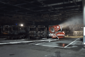 Read more about the article Major fire in bus terminal in Stuttgart